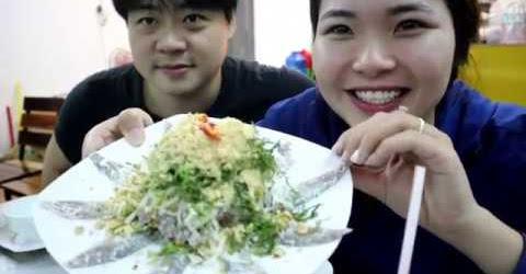 2 Lúa Ăn GỎI CÁ TRÍCH PHÚ QUỐC- Chị chủ quán cực kỳ dễ thương