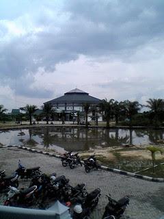 Sports Hall UIN Suska University of Riau
