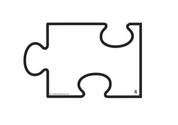 3 Piece Jigsaw Puzzle Template | Free Download Clip Art | Free ...