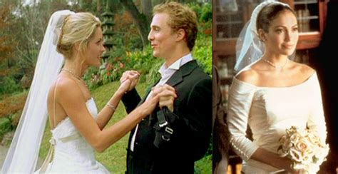 Wedding Dresses from the Movies