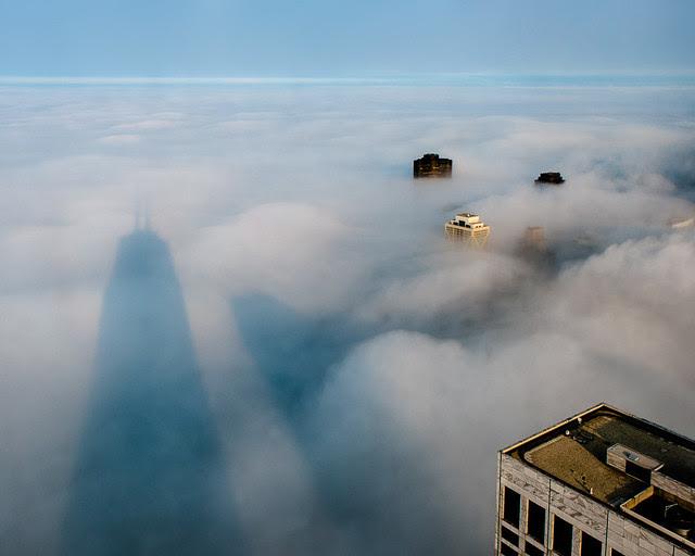 Big John above the Cloud