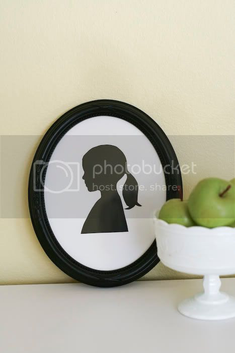 image silhouette wall art picture tutorial diy the anderson crew