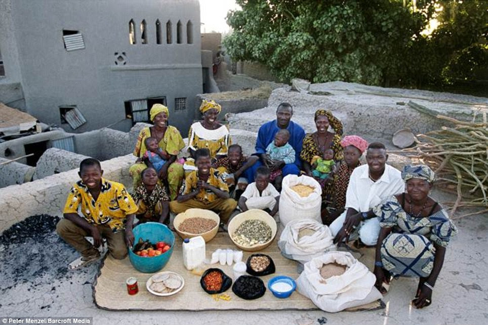 Μάλι: Οι Natomos της Kouakourou δαπανούν περίπου £ 16 για τα τρόφιμα