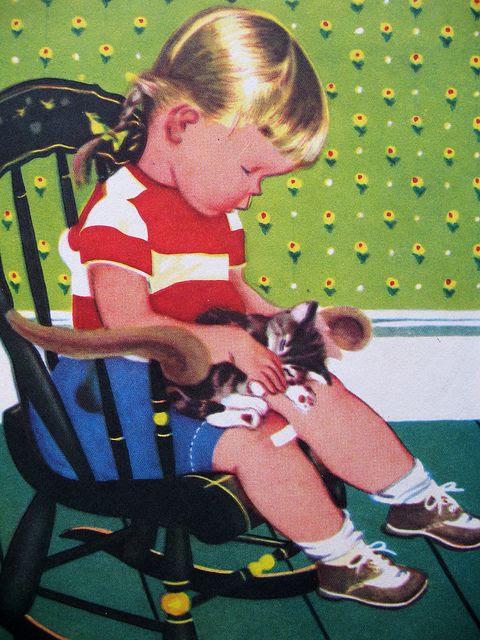 My Kitten. Illustrated by Eloise Wilkin.