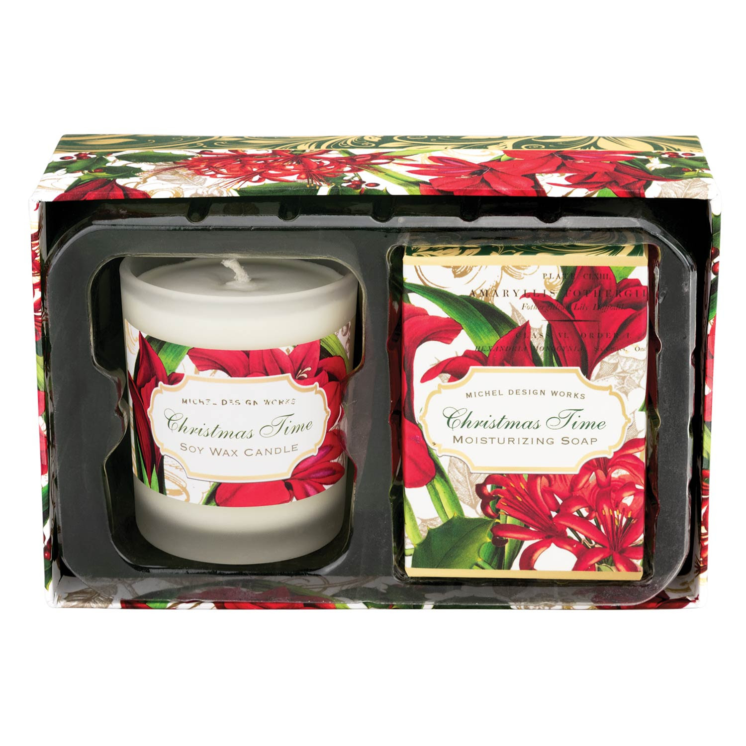 Michel Design Works Candle Soap Gift Sets Christmas Time