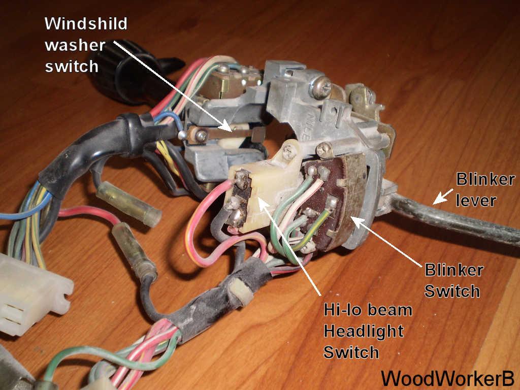 Datsun 240z Blinker Switch Detail Woodworkerb
