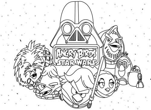 Coloriages à Imprimer Star Wars Numéro 61351