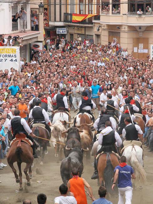 Resultado de imagen de entrada de toros y caballos de segorbe