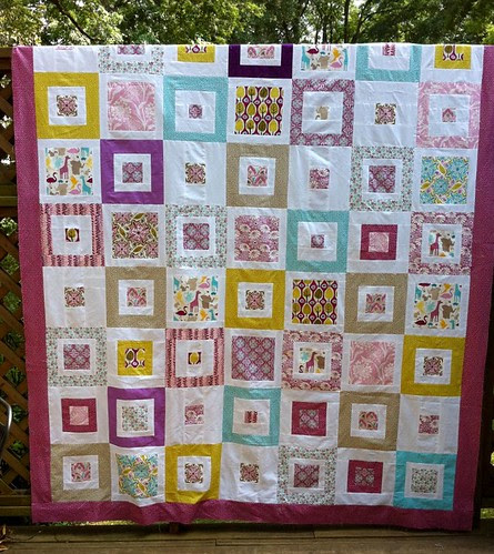 "Central Park Quilt Top for ""Her"""