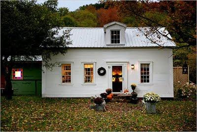 This Little Farm House in the Catskills Old Wooden a