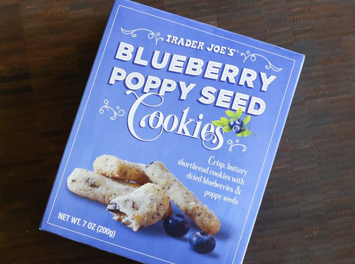 Trader Joe's blueberry poppy seed cookies review