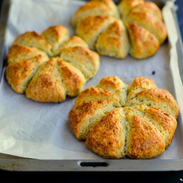 Garlic Bread Scones