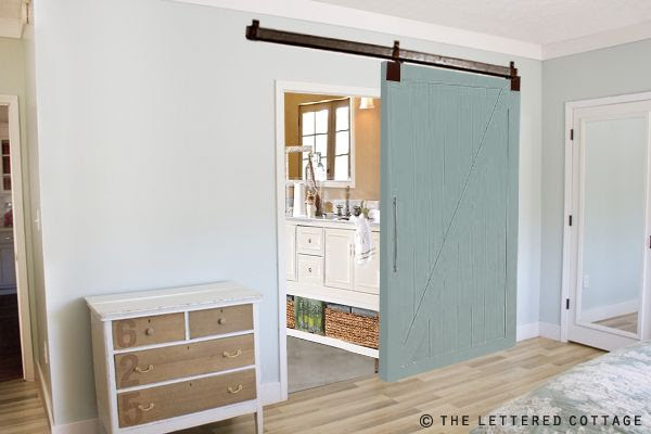 We're Building A Barn Door | The Lettered Cottage