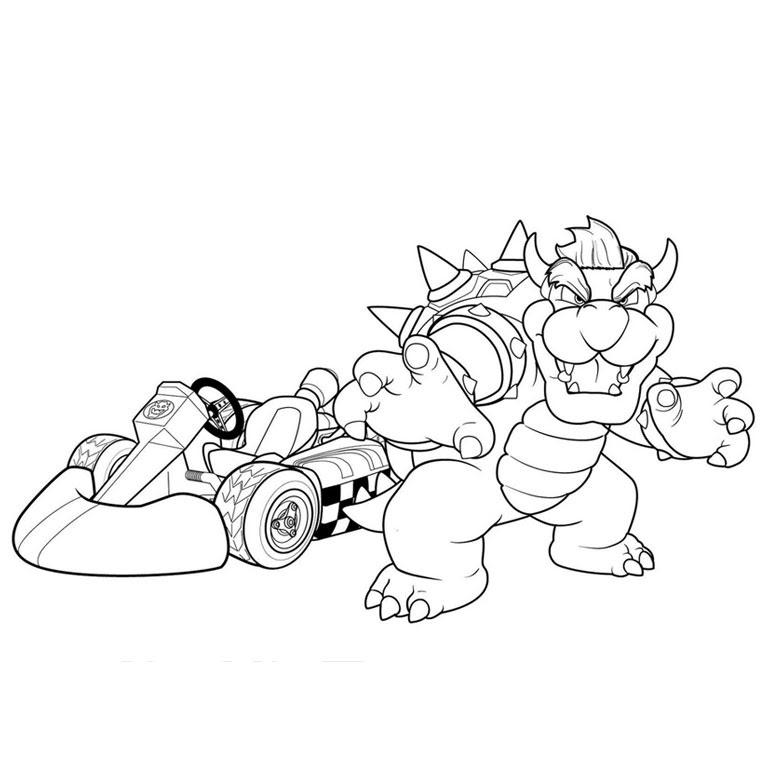 Mario Kart 8 Drawing At Getdrawingscom Free For Personal Use