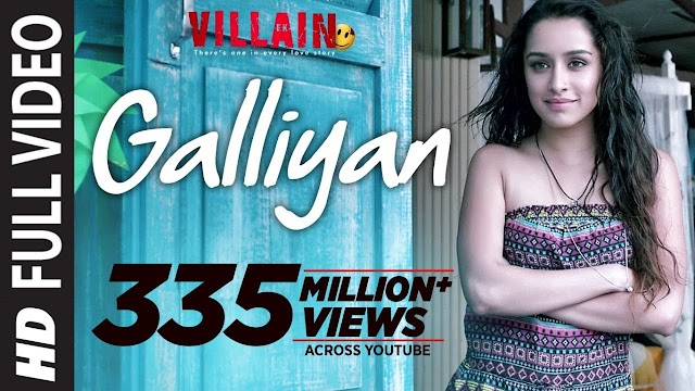 Galliyan song lyrics - Ankit Tiwari | lyrics for romantic song
