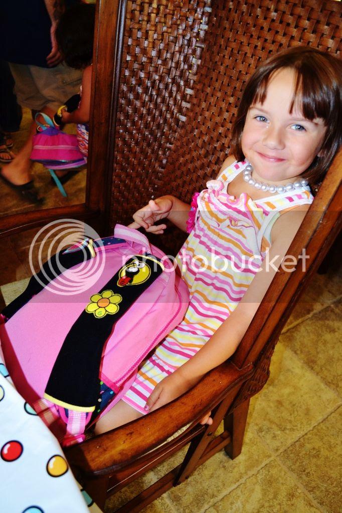 The Birthday Girl w/ Her Gutzy Gear