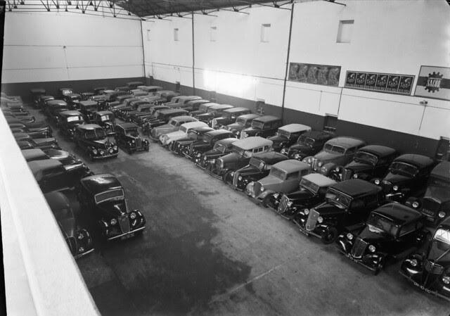 Garagem Imperial, Rua Carlos Mardel (M.Novais, 1940-50)