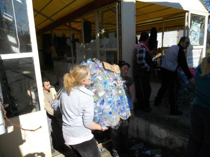 Ανακύκλωσαν 90 τόνους πλαστικό