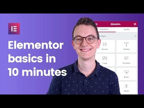 Elementor Wordpress Basics Tutorial