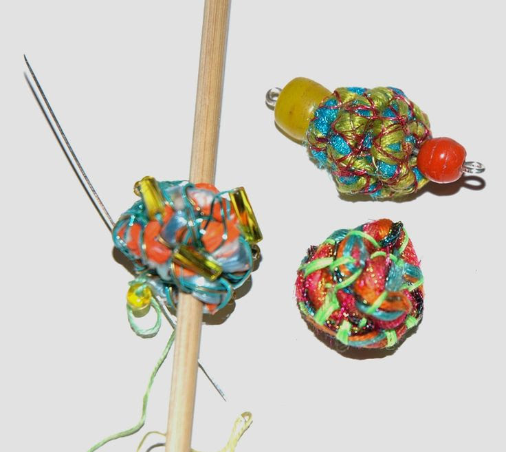 Fabric beads | Making Fabric Beads | Janet Haigh : Her Work