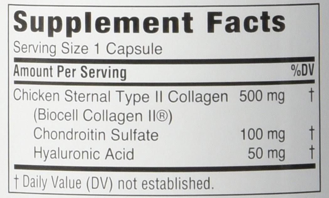Amazon.com: Twinlab MaxiLife Collagen Type II with Hyaluronic Acid ...