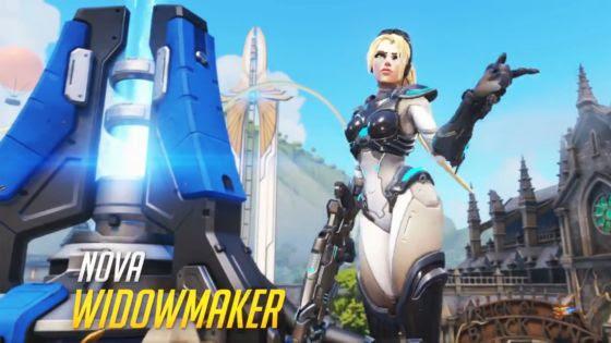 Overwatch Loot Boxes - Nova Widowmaker