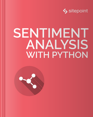 Sentiment Analysis with Python book cover