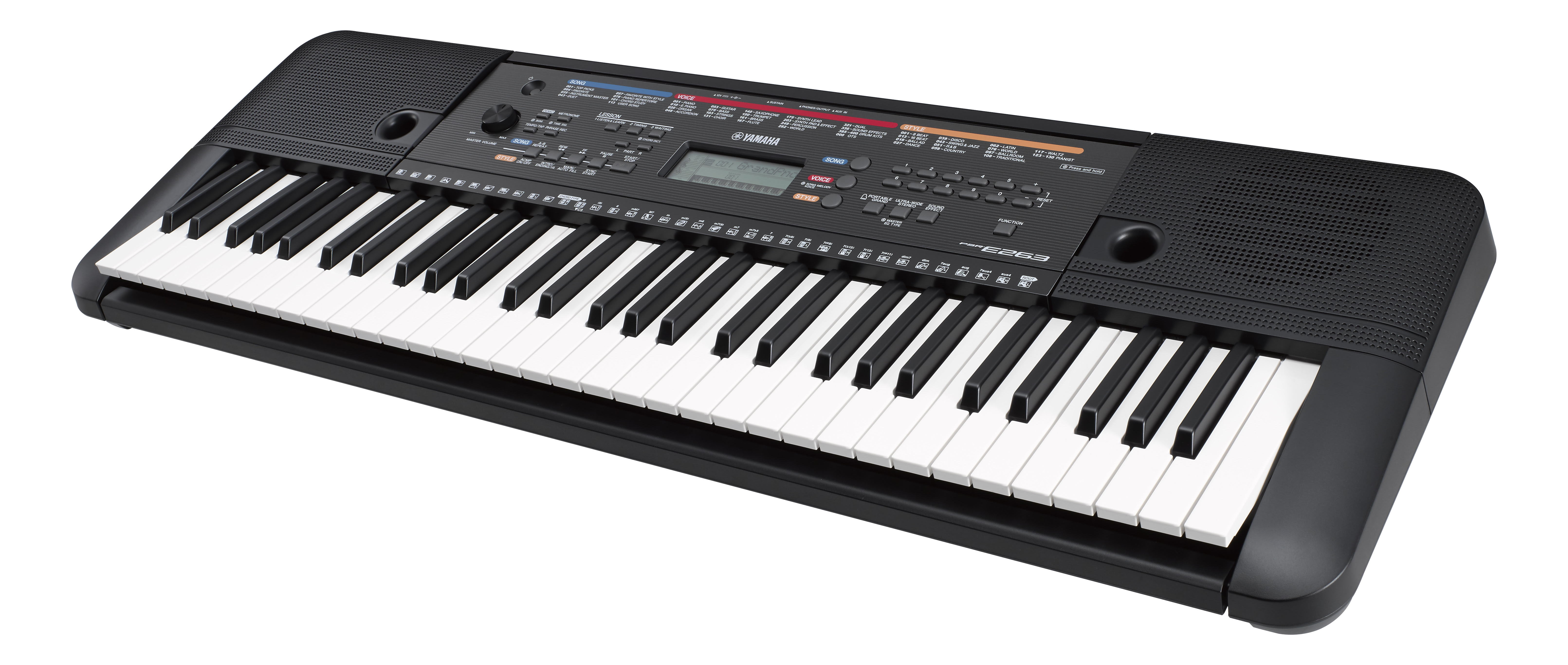 Yamaha Psr E263 And Psr E363 Are Ideal First Keyboards For