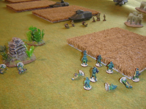 Firefight erupts as squad dismounts