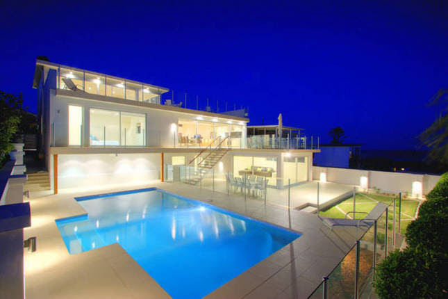 Ultra Modern House  with 3 Levels and Ocean  Views  from