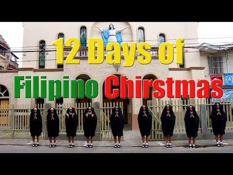 12 Days of Filipino Christmas - Mikey Bustos with Lyrics
