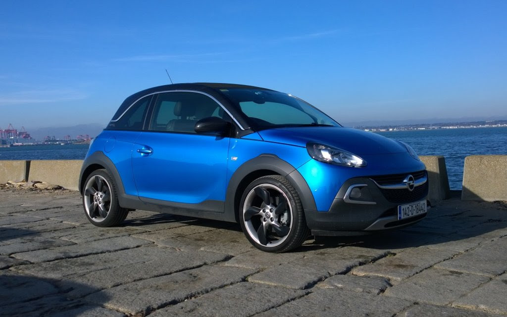 opel adam rocks review  test drives  atthelights