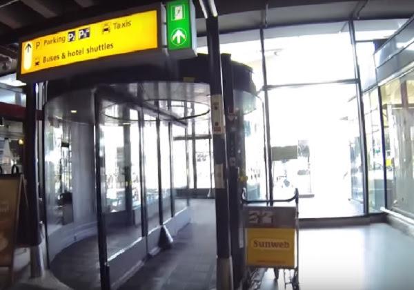 aeroporto amsterda foto youtube