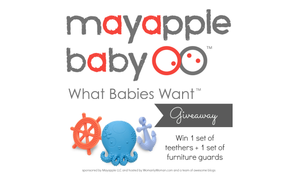 Enter to win a set of teethers and furniture guards