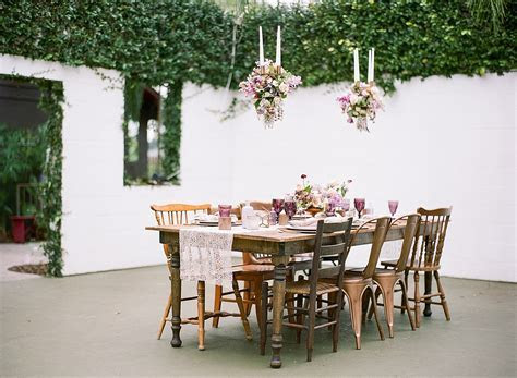 Copper and Lavender Wedding Inspiration at The Acre