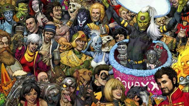 2000 AD's 2,000th issue, which is out in September