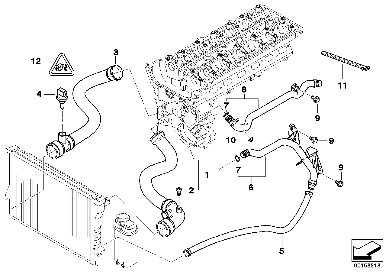 [SCHEMATICS_48IU]  2001 Bmw 325i Radiator Hose Diagram - Thxsiempre | 2001 Bmw 325i Engine Diagram |  | Thxsiempre
