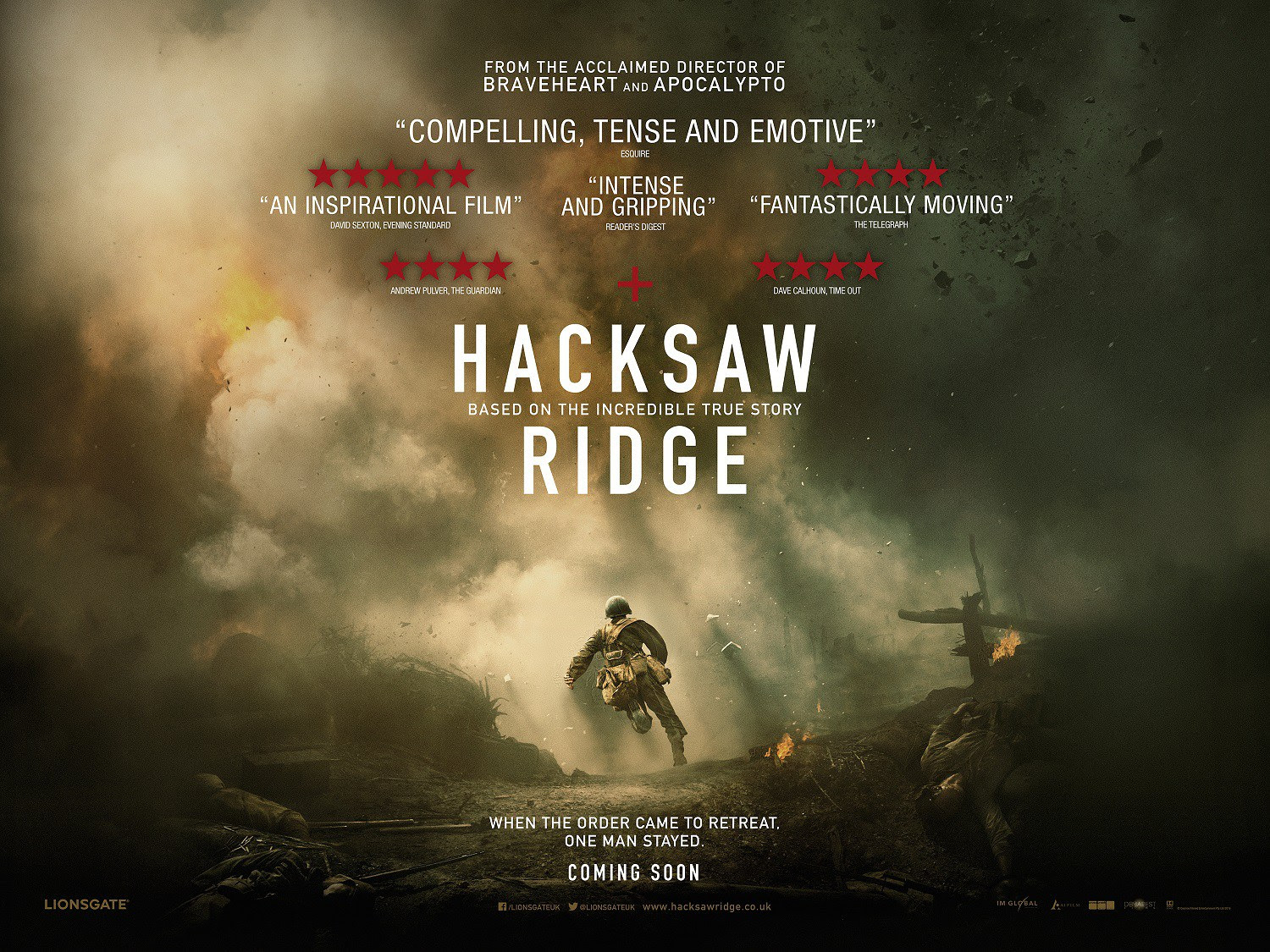 Movie Review Could Hacksaw Ridge Be An Oscar Contender