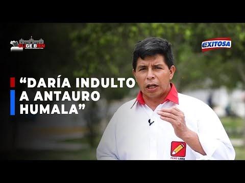 🔴🔵Elige Bien | Pedro Castillo indultará a Antauro Humala de llegar a la ...