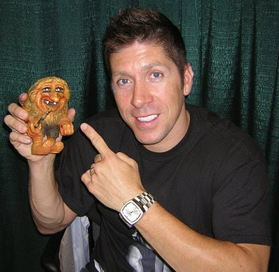 Ray Park with Torvald