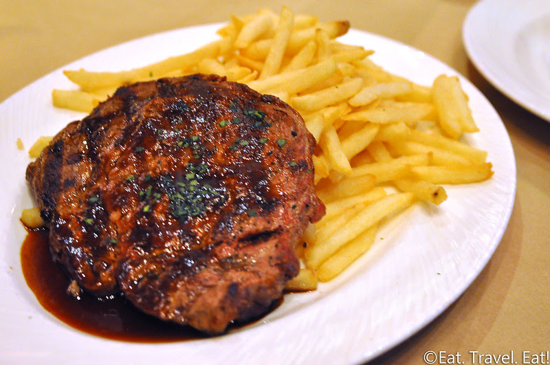 Great Maple (Fashion Island)- Newport Beach, CA: GM Trio Steak & Frites