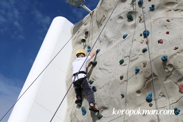Rock-Climbing Wall - Medium Difficulty