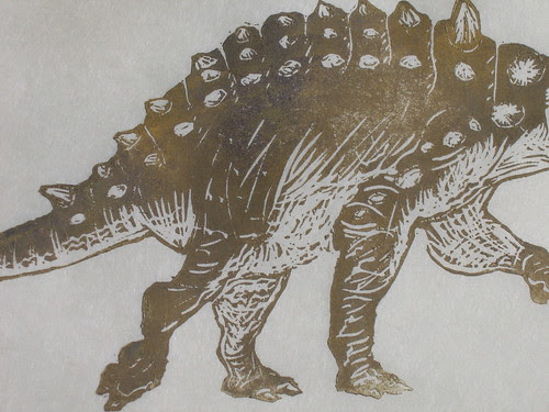 Euocephalus horns (print detail)