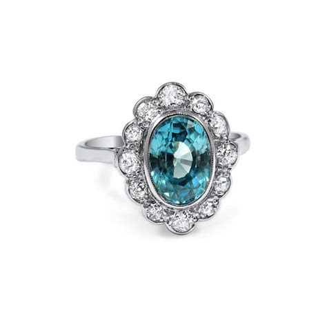 Unique Engagement Rings: Colored Gemstone Engagement Rings