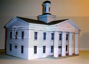Papermau Vandalia State House Paper Model By Build Your
