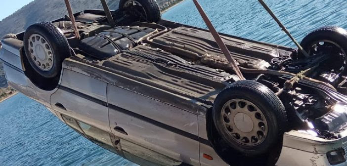 Ανακοίνωση του Λιμενικού για το περιστατικό πτώσης αυτοκινήτου στο λιμάνι του Αστακού (ΦΩΤΟ)