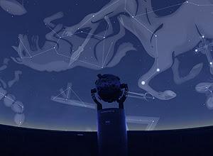 Planetário de Santo André, que abriu na semana passada