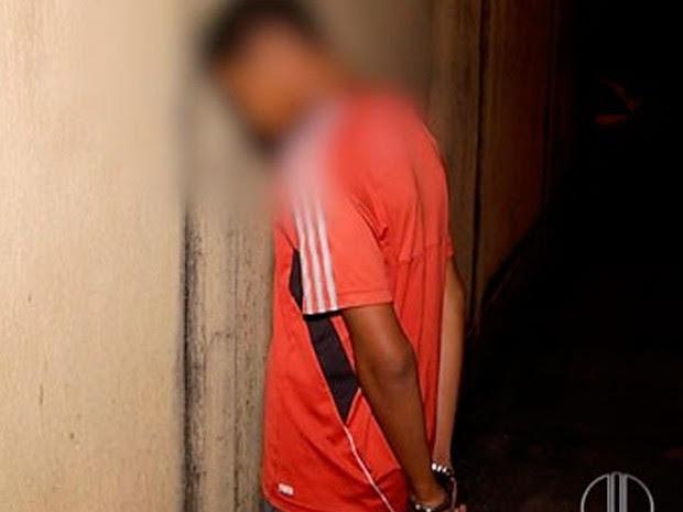 Garoto de 15 anos confessou ter matado o amigo por causa de uma dívida de R$ 10  (Foto: Reprodução/Inter TV Cabugi)