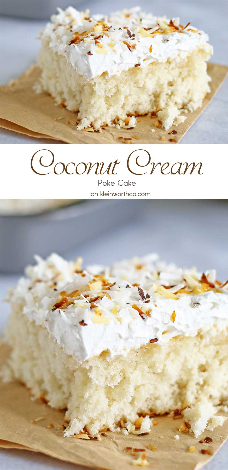 Coconut Cream Cake - Kleinworth & Co