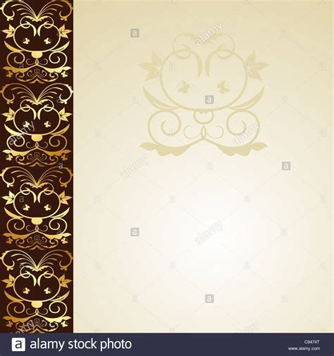Illustration floral background for design wedding card